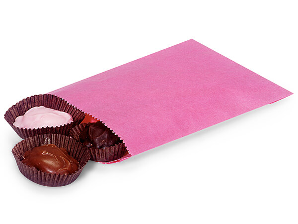 """Wild Rose 1/4 lb Paper Candy Bags 4.75x6.75"""", 1000 Pack"""