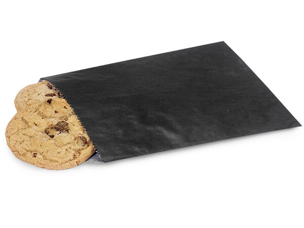 """Black 1/2 lb Paper Candy Bags 5.75x7.5"""", 1000 Pack"""