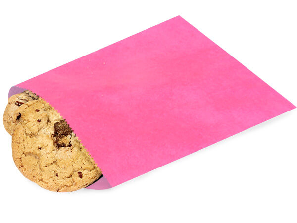 """Wild Rose 1 lb Paper Candy Bags 6.75x9.25"""", 1000 Pack"""