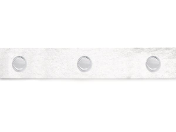 """Glue Dots High Tack Medium Profile, 1/2"""" Diameter 2000 Dots per roll"""