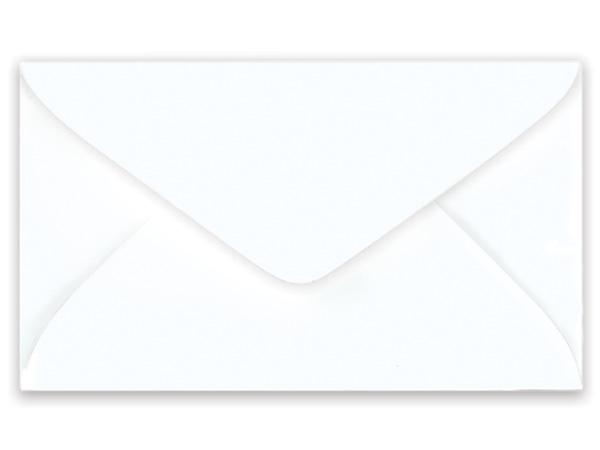 "500 White Gift Card Envelopes 4-1/4""x2-1/2"""