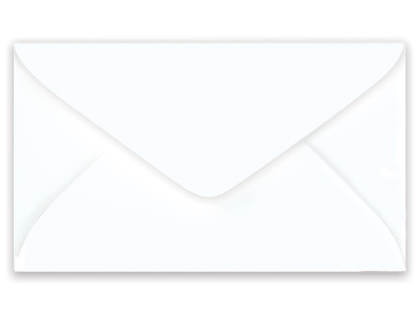 "100 White Gift Card Envelopes 4-1/4""x2-1/2"""