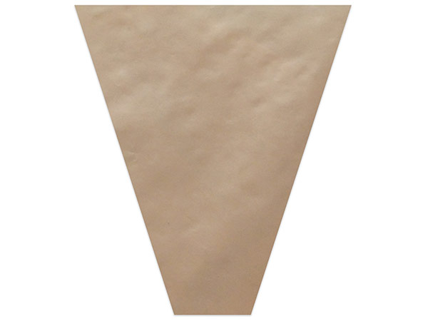 Brown Mineral Paper Bouquet Sleeve 4 X 18 X 17 50 Pack