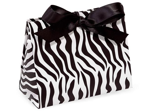 Zebra Purse Favor Tote