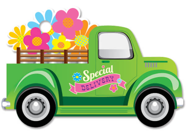 Special Delivery Theme Gift Cards 3-3/4x2-3/4""