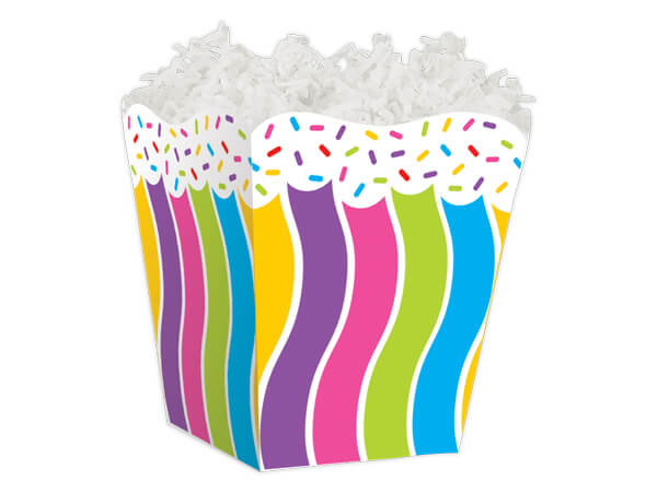 """*Candy Sprinkles Sweet Treat Boxes 4 x 4 x 4-1/2"""""""