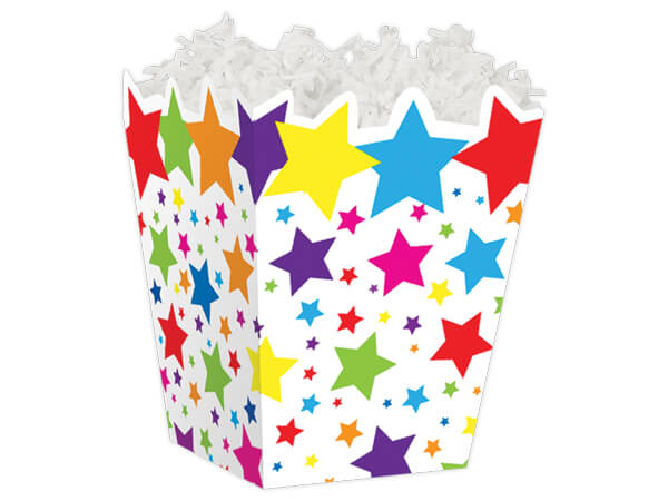 Super Stars Sweet Treat Gift Boxes 4 x 4 x 4-1/2""