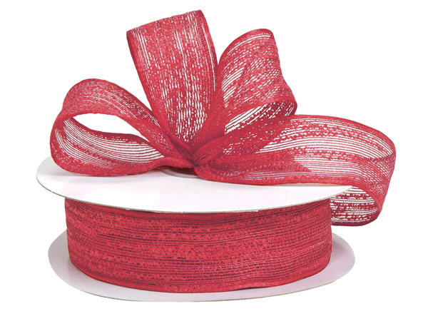 Red Birchwood Ribbon