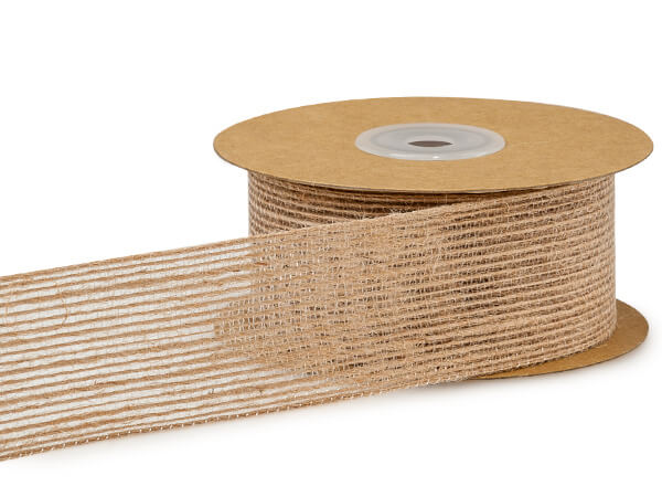 Woodland Natural Burlap Ribbon