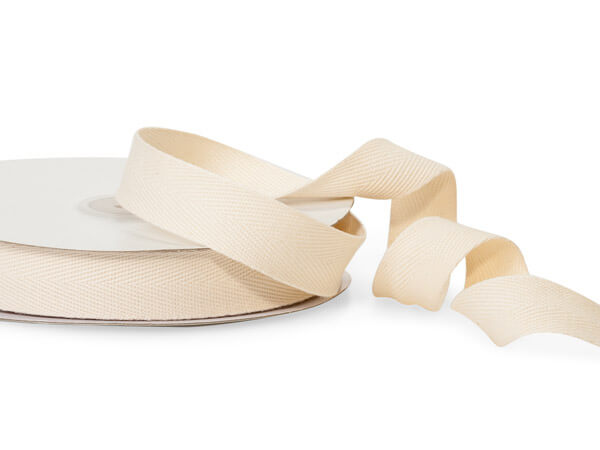 "1,5"" Ivory Cream Organza Wired Ribbon 3 Yards"