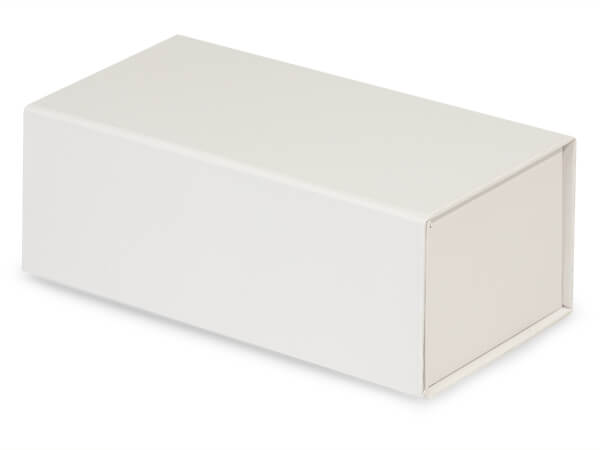 """White Magnetic Closure Gift Boxes, 7x4x2.75"""""""