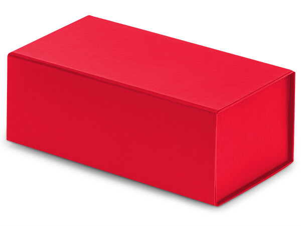 """Red Magnetic Closure Gift Boxes, 7x4x2.75"""""""
