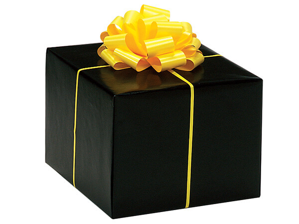 "Black Gloss 24""x417' Roll Gift Wrap"