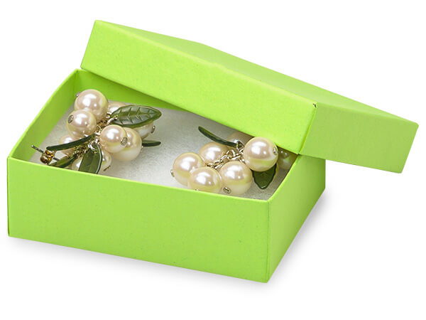"""3x2-1/8x1"""" Citrus Serenade Eco Tone Recycled Jewelry Boxes"""