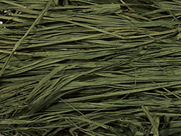 Olive Green Natural Raffia Fiber, 6 oz Bag
