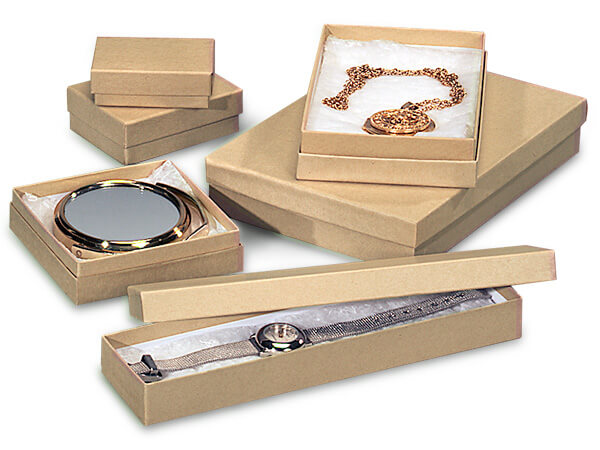 Kraft Jewelry Box Assortments