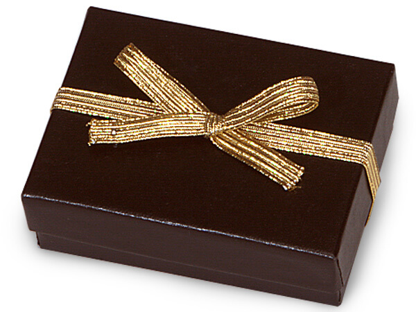 "6"" Metallic Gold Elastic Stretch Loops with Pre-Tied Bows, 50 Pack"