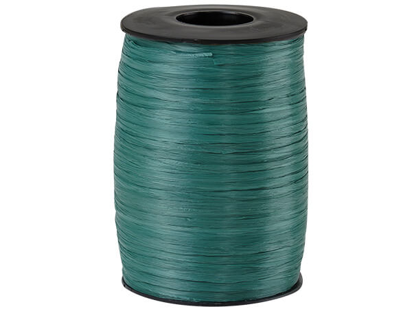 Hunter Matte Raffia Ribbon, 500 yards