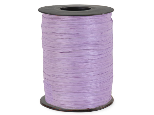Lavender Matte Raffia Ribbon, 500 yards