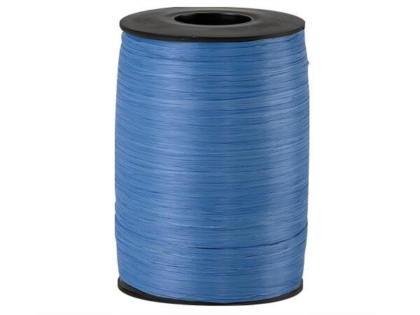 Royal Blue Matte Raffia Ribbon, 500 yards