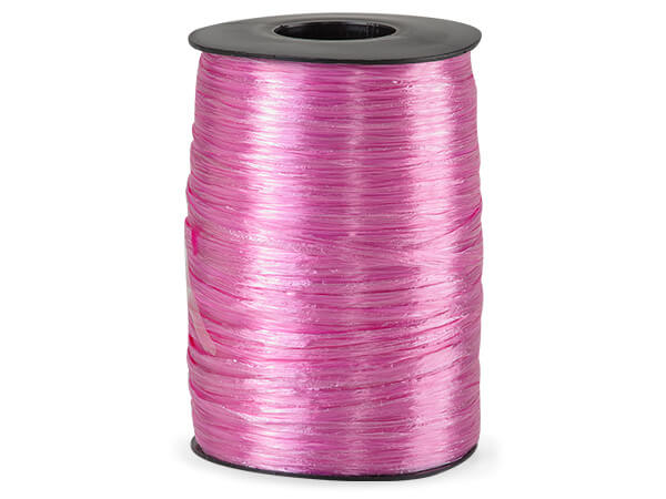 Azalea Pearlized Raffia Ribbon, 500 yards