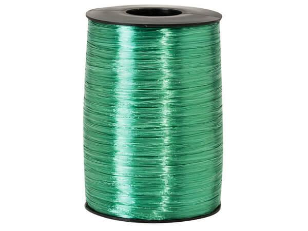 Emerald Pearlized Raffia Ribbon, 500 yards