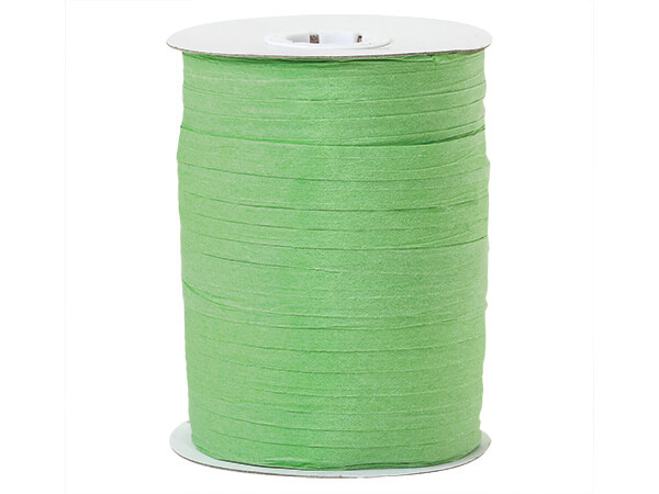 Celadon Paper Raffia Ribbon, 100 yards