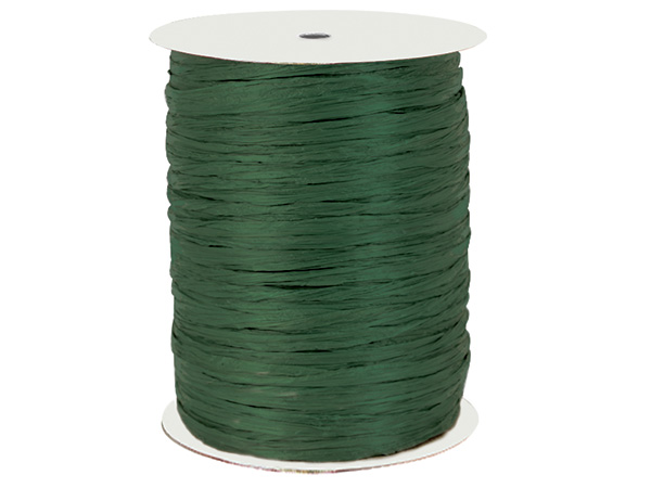 Hunter Paper Raffia Ribbon, 100 yards