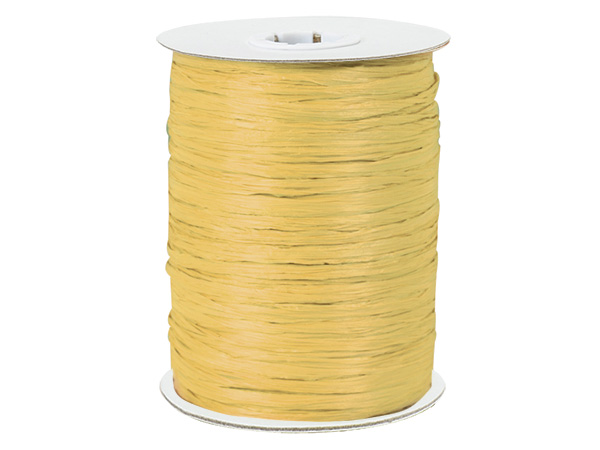 Oatmeal Paper Raffia Ribbon, 100 yards