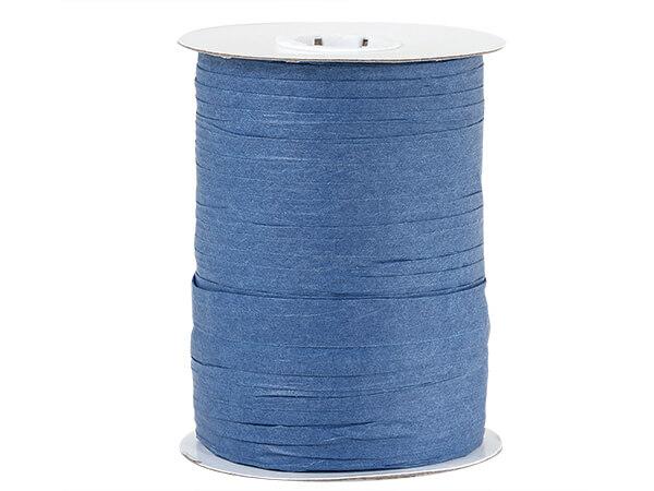 Royal Blue Paper Raffia Ribbon, 100 yards