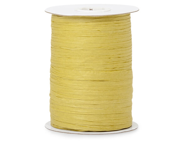 Sage Paper Raffia Ribbon, 100 yards