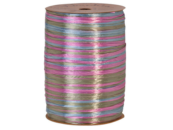 *Sage, Williamsburg and Orchid Pearlized 3-in-1 Raffia, 300 yards