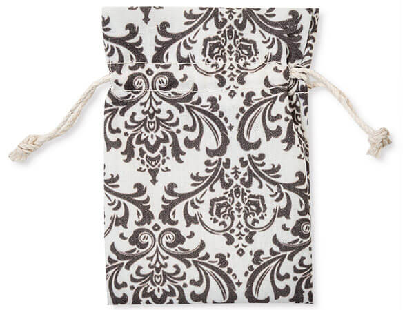 "**Brocade Favor Bags, X-Small 3x4"", 12 Pack"