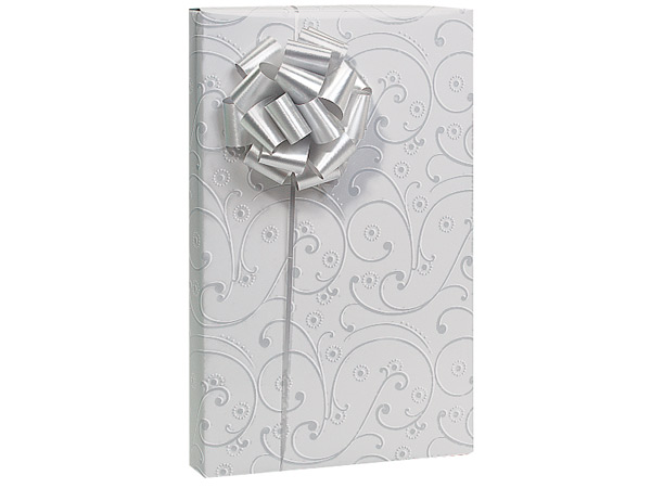 """Wedding Swirls Wrapping Paper 24""""x417' Counter Roll"""