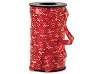 Valentine Poly Curling Ribbon Prints