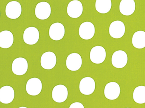 "Citrus Twist Dots 24""x85' Gift Wrap"