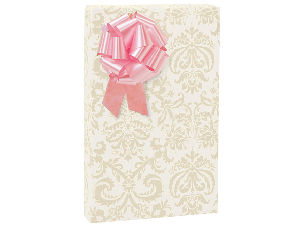 "Pearl Flourish 24""x417' Roll Gift Wrap"