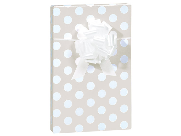 """Pearl Dots Wrapping Paper 24""""x417' Counter Roll"""