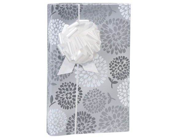 """Wedding Blooms 24""""x85' Roll Gift Wrap"""