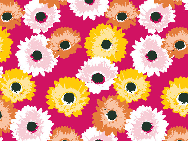 "**Daisy Inspirations 24""x417' Roll Gift Wrap"
