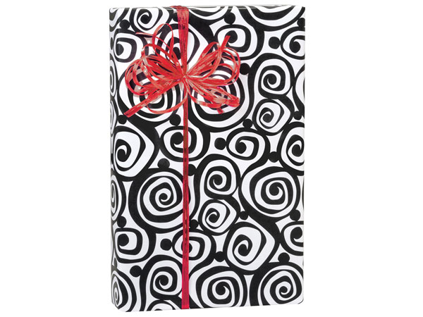 "Bohemian Swirls Wrapping Paper 24""x85' Cutter Roll"