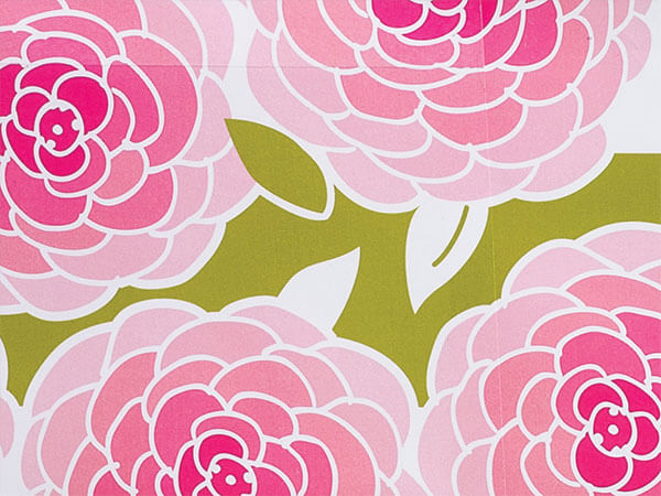 """Rose Blossoms 24""""x85' Roll Gift Wrap"""
