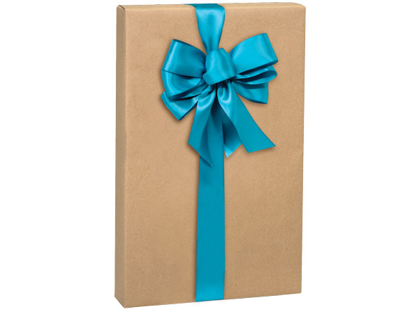 "Natural Kraft 24""x417' Gift Wrap Counter Roll"