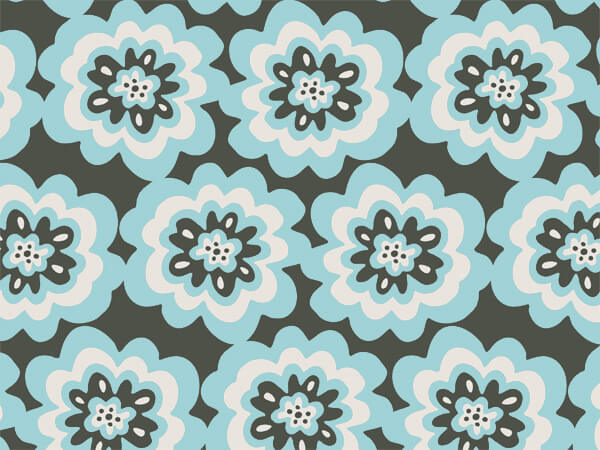 "Melody Blooms 24""x85' Roll Gift Wrap"