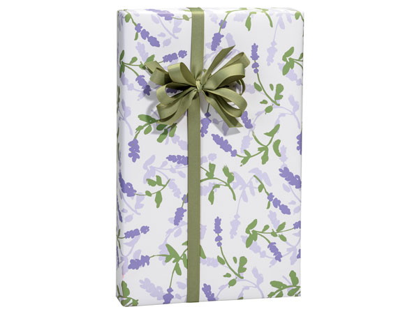 "Lavender Field Wrapping Paper 24""x85' Cutter Roll"