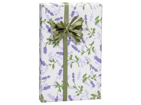 Lavender Field Gift Wrap