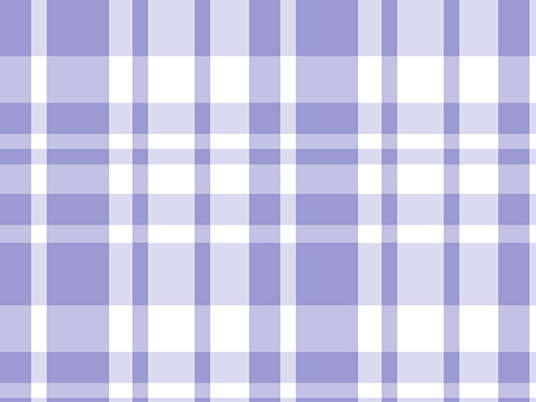 "*Lavender Plaid 24""x417' Gift Wrap Counter Roll"