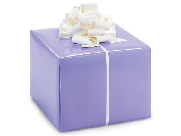 "Lavender Gloss 24""x417' Roll Gift Wrap"