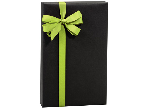 "Black Chalkboard Kraft 24""x85' Roll Gift Wrap"