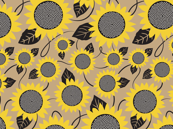 Sunflower Fields Gift Wrap